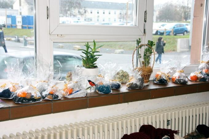 Selbstgebackene Aufmerksamkeiten für die Besucher der Mainzer Einrichtung ...