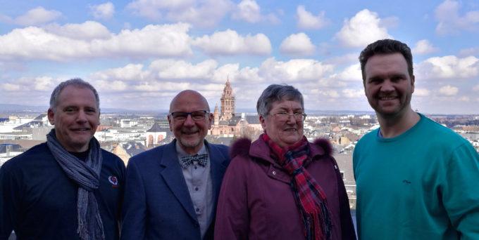 Der Vorstand des Fördervereins der KBS Mainz